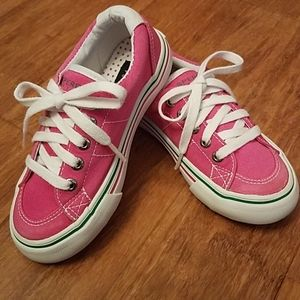 Sperry Top Sider Castaway girl's pink shoe.Size 10
